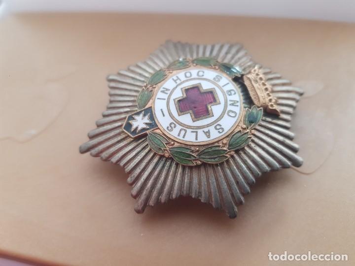 Militaria: PLACA CRUZ ROJA ÉPOCA DE FRANCO - Foto 2 - 180104811