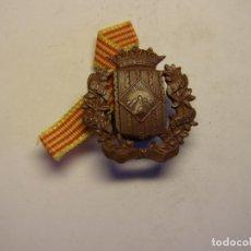 Militaria: ANTIGUA MEDALLA INSIGNIA DEL SOMATEN ARMADO DE CATALUNYA. ALMACENES JORBA. AÑOS 20-30. Lote 180108106