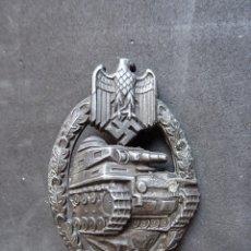 Militaria: INSIGNIA DE ASALTO PANZER ALEMANA DE LA SEGUNDA GUERRA MUNDIAL.. Lote 180110656
