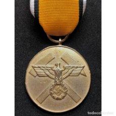 Militaria: MEDALLA POR RESCATES EN MINAS CATEGORÍA ORO ALEMANIA NAZI TERCER REICH. Lote 195309251