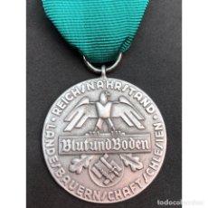 Militaria: MEDALLA SANGRE Y TIERRA ALEMANIA NAZI TERCER REICH. Lote 180166643