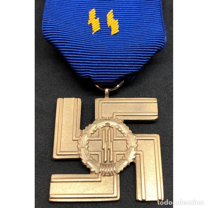 MEDALLA 25 AÑOS DE SERVICIO EN LA SS ALEMANIA NAZI TERCER REICH (Militar - Reproducciones y Réplicas de Medallas )