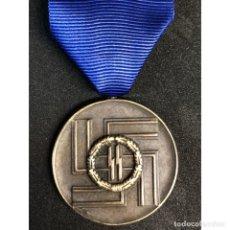 Militaria: MEDALLA 8 AÑOS DE SERVICIO EN LA SS ALEMANIA NAZI TERCER REICH. Lote 234563815