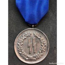 Militaria: MEDALLA 4 AÑOS DE SERVICIO EN LA SS ALEMANIA NAZI TERCER REICH. Lote 180168320