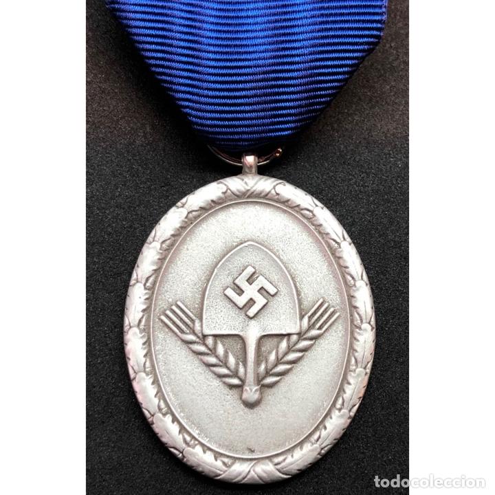 MEDALLA DEL RAD CATEGORIA PLATA ALEMANIA NAZI TERCER REICH (Militar - Reproducciones y Réplicas de Medallas )