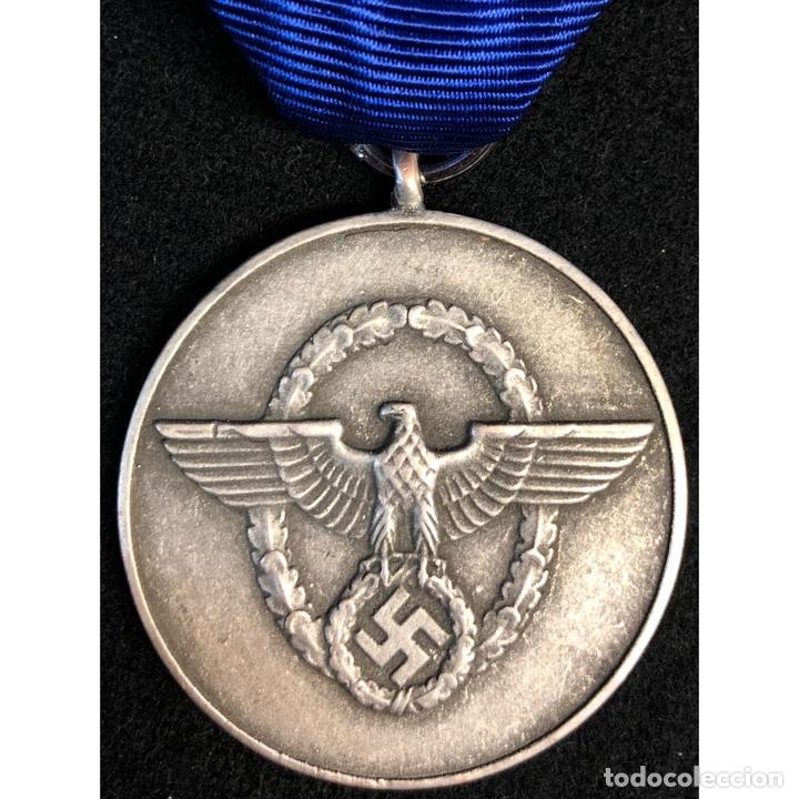 MEDALLA POR 8 AÑOS DE SERVICIO EN LA POLICIA ALEMANIA NAZI TERCER REICH (Militar - Reproducciones y Réplicas de Medallas )