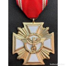 Militaria: MEDALLA POR 25 AÑOS EN EL PARTIDO NSDAP ALEMANIA NAZI TERCER REICH. Lote 180169318