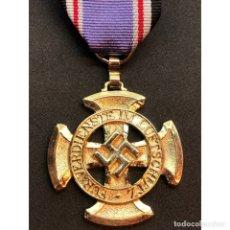Militaria: MEDALLA POR LA DEFENSA AEREA 1938 LUFTSCHUTZ ALEMANIA NAZI TERCER REICH. Lote 180169685