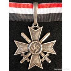 Militaria: CRUZ DE CABALLERO DE LA CRUZ AL MERITO MILITAR ALEMANIA NAZI TERCER REICH. Lote 180170175