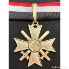 Militaria: CRUZ DE CABALLERO DE LA CRUZ AL MERITO MILITAR ALEMANIA NAZI TERCER REICH. Lote 180170195