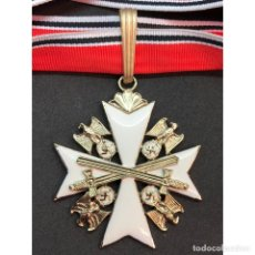 Militaria: GRAN CRUZ DE LA ORDEN DEL AGUILA ALEMANA CON ESPADAS ALEMANIA NAZI TERCER REICH. Lote 213714591