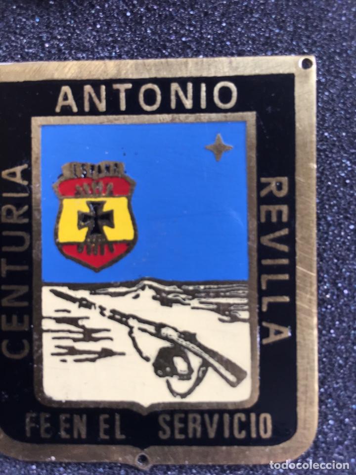 PLACA DE LA CENTURIA ANTONIO REVILLA- FALANGE - OJE - (Militar - Reproducciones y Réplicas de Medallas )