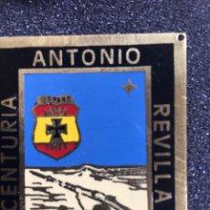 Militaria: PLACA DE LA CENTURIA ANTONIO REVILLA- FALANGE - OJE -. Lote 180252568
