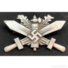 Militaria: INSIGNIA DE ENTRENAMIENTO EN LA WEHRMACHT CATEGORIA PLATA ALEMANIA NAZI TERCER REICH. Lote 180264615