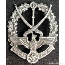 Militaria: INSIGNIA SS COSACOS CATEGORIA PLATA ALEMANIA NAZI TERCER REICH. Lote 180264970