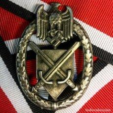 Militaria: INSIGNIA DEL HEER ALEMANIA NAZI TERCER REICH WEHRMACHT. Lote 180265443
