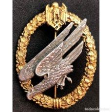 Militaria: DISTINTIVO PARACAIDISTA DEL HEER ALEMANIA NAZI TERCER REICH WEHRMACHT. Lote 180265927