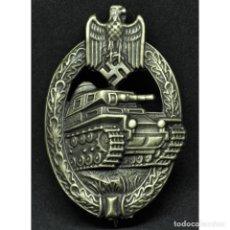 Militaria: DISTINTIVO DE COMBATE CARROS DE COMBATE PANZER ASSMANN ALEMANIA NAZI TERCER REICH WEHRMACHT. Lote 180266327