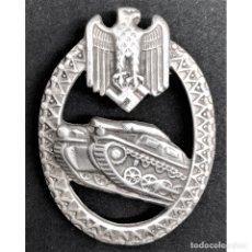 Militaria: INSIGNIA PANZER ALEMANIA NAZI TERCER REICH WEHRMACHT. Lote 180266617