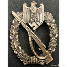 Militaria: DISTINTIVO ASALTO INFANTERIA CATEGORIA BRONCE ALEMANIA NAZI TERCER REICH WEHRMACHT. Lote 180267943
