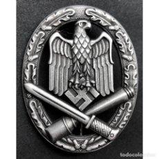 Militaria: DISTINTIVO ASALTO GENERICO JFS ALEMANIA NAZI TERCER REICH WEHRMACHT. Lote 180268903