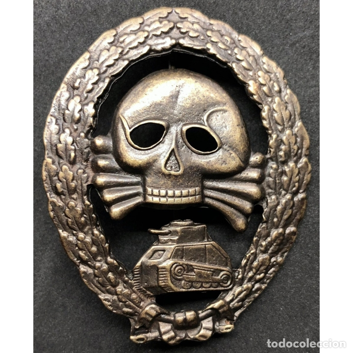 INSIGNIA GRUPOS BLINDADOS LEGION CONDOR ALEMANIA NAZI TERCER REICH WEHRMACHT (Militar - Reproducciones y Réplicas de Medallas )