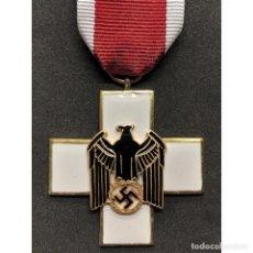 Militaria: MEDALLA DEL BIENESTAR SOCIAL O CRUZ ROJA ALEMANA TERCERA CLASE ALEMANIA NAZI TERCER REICH. Lote 180406331