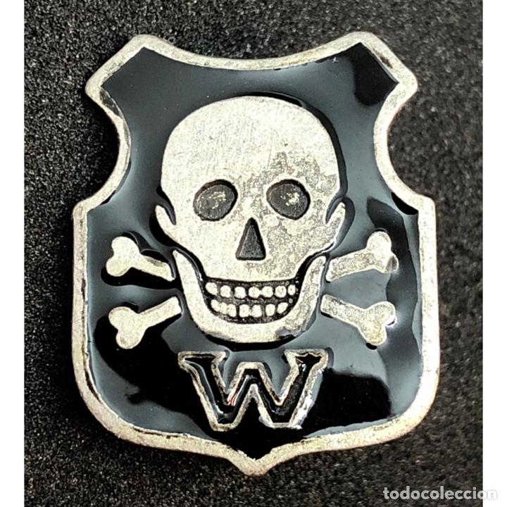 INSIGNIA DE WEHRWOLF SS ALEMANIA NAZI TERCER REICH SCHUTZSTAFFEL (Militar - Reproducciones y Réplicas de Medallas )
