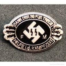 Militaria: INSIGNIA MIEMBRO HONORARIO DE LA SS ALEMANIA NAZI TERCER REICH SCHUTZSTAFFEL . Lote 180420355