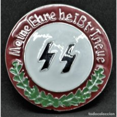 Militaria: INSIGNIA PIN DE LAS SS ALEMANIA NAZI TERCER REICH SCHUTZSTAFFEL . Lote 180420797