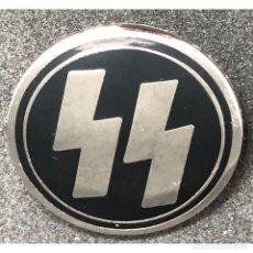 Militaria: INSIGNIA DE LAS SS ALEMANIA NAZI TERCER REICH SCHUTZSTAFFEL . Lote 180420835