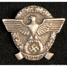 Militaria: INSIGNIA DE LAS SS 1942 ALEMANIA NAZI TERCER REICH SCHUTZSTAFFEL . Lote 180420907