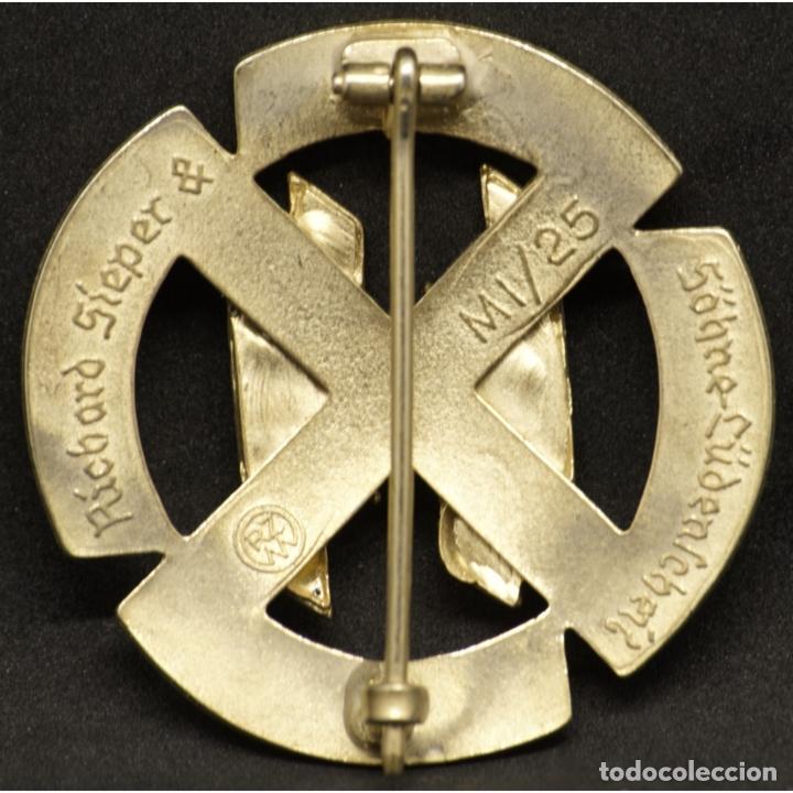 Militaria: DISTINTIVO RUNAS GERMANICAS DE LAS SS ALEMANIA NAZI TERCER REICH Schutzstaffel M1/25 - Foto 2 - 180421802