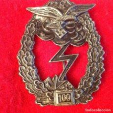 Militaria: MEDALLA ALEMANA II GUERRA MUNDIAL, 60X45 MM. LE FALTA PARA ENGANCHAR EL ALFILER.. Lote 180473158