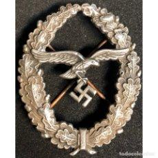 Militaria: INSIGNIA ALEMANIA NAZI TERCER REICH LUFTWAFFE . Lote 180496353