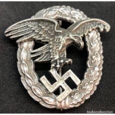 Militaria: DISTINTIVO DE PILOTO OBSERVADOR ALEMANIA NAZI TERCER REICH LUFTWAFFE. Lote 180499742