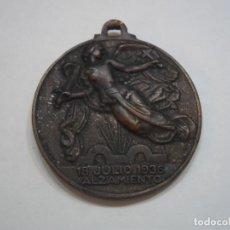Militaria: MEDALLA ALZAMIENTO Y VICTORIA- CATEGORIA DE BRONCE - ORIGINAL. Lote 107811455