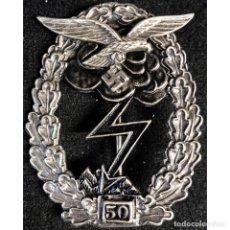 Militaria: DISTINTIVO COMBATE TERRESTRE 50 COMBATES ALEMANIA NAZI TERCER REICH LUFTWAFFE. Lote 180503133