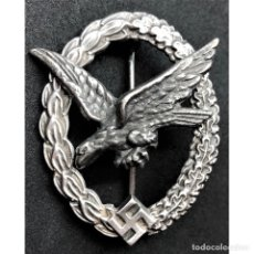 Militaria: DISTINTIVO AMETRALLADOR ALEMANIA NAZI TERCER REICH LUFTWAFFE. Lote 180504290