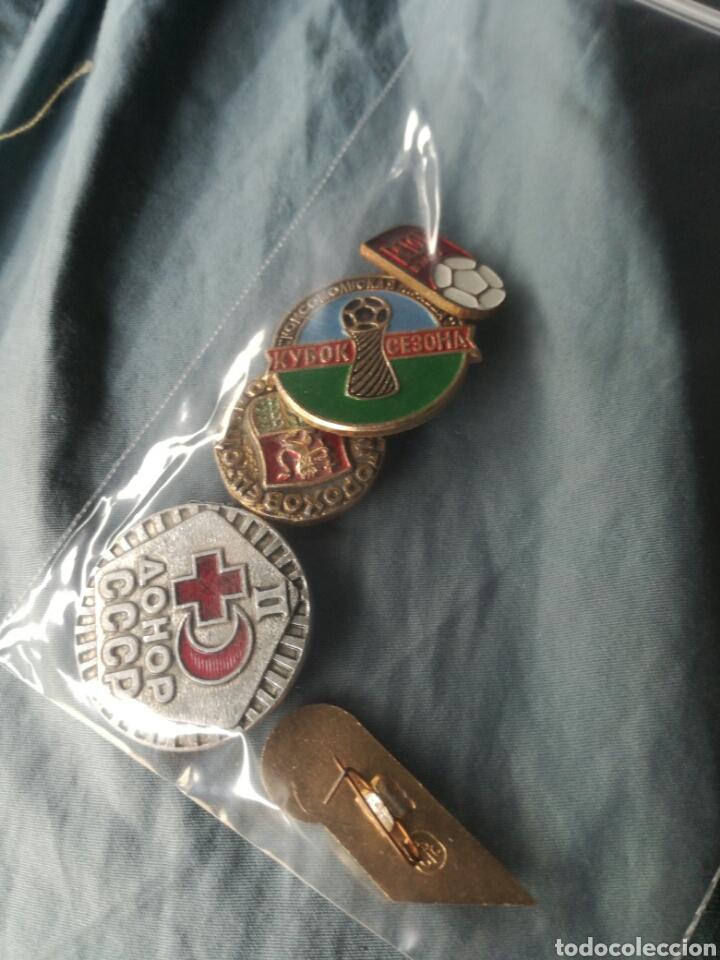 Militaria: Lote de 5 pins insignias Rusia - Union sovietica - Foto 3 - 180841632