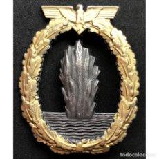 Militaria: DISTINTIVO DE COMBATE DRAGAMINAS Y ANTISUBMARINOS ALEMANIA NAZI TERCER REICH KRIEGSMARINE. Lote 180866096