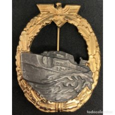 Militaria: DISTINTIVO DE COMBATE DE LANCHAS RAPIDAS ALEMANIA NAZI TERCER REICH KRIEGSMARINE. Lote 180866476