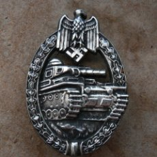 Militaria: INSIGNIA PANZERKAMP. PLATA .TERCER REICH. NAZI. Lote 261251400