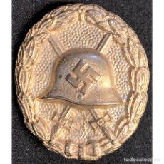 Militaria: DISTINTIVO DE HERIDO CATEGORIA ORO MODELO LEGION CONDOR ALEMANIA NAZI TERCER REICH WEHRMACHT. Lote 213714570