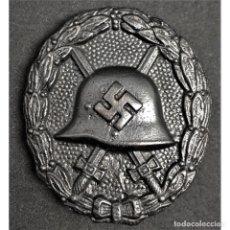 Militaria: DISTINTIVO DE HERIDO EN NEGRO MODELO LEGION CONDOR ALEMANIA NAZI TERCER REICH WEHRMACHT. Lote 213714577