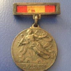 Militaria: MEDALLA 18 JULIO 1936 - ALZAMIENTO 1 ABRIL 1939. Lote 181036416