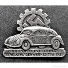 Militaria: INSIGNIA VOLKSWAGEN NSDAP ALEMANIA PARTIDO NAZI TERCER REICH. Lote 181069908