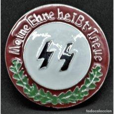 Militaria: INSIGNIA PIN SS SCHUTZSTAFFEL NSDAP ALEMANIA PARTIDO NAZI TERCER REICH. Lote 181071393