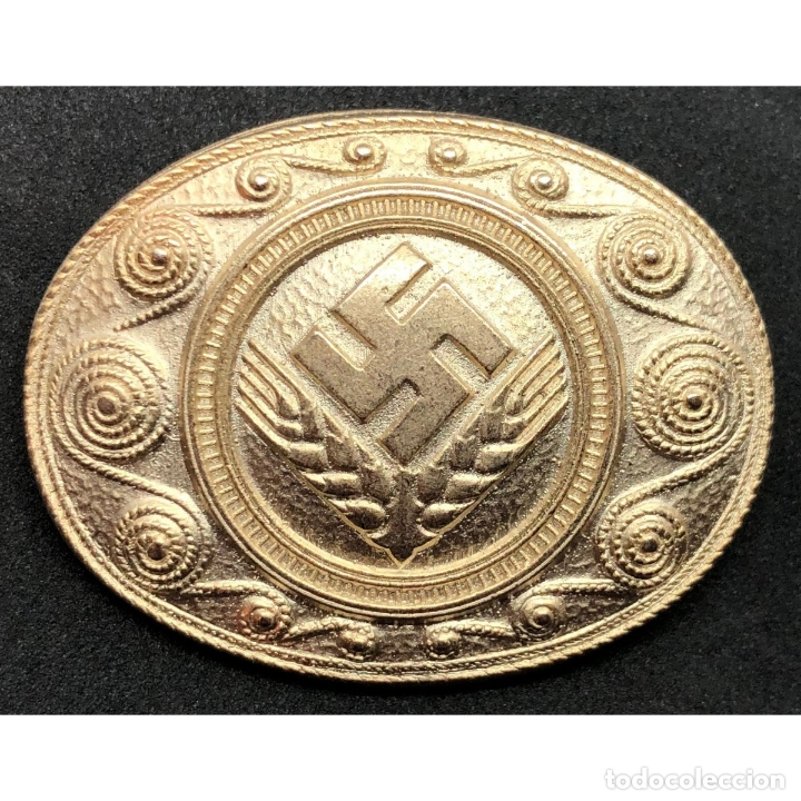 INSIGNIA DEL RAD NSDAP ALEMANIA PARTIDO NAZI TERCER REICH (Militar - Reproducciones y Réplicas de Medallas )