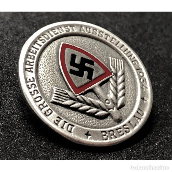 Militaria: INSIGNIA DEL RAD BRESLAU 1934 NSDAP Alemania Partido Nazi Tercer Reich - Foto 3 - 181071977